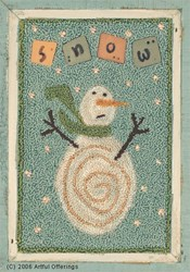 Oh No! More Snow!  Pattern & Buttons Set