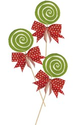 Holiday Lollipop Punch Needle Pattern