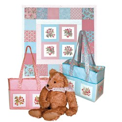Pink - Bye Bye Baby Quilt Kit Only - LAST ONE!!