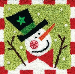 Peppermint Snowman Pattern
