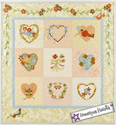 Yours Truly Quilt Pattern<br>Bunny Hill Designs