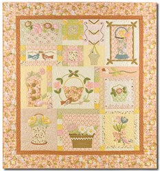 VINTAGE FIND! Blossom Time - Complete BOM Pattern Set by Anne Sutton of Bunny Hill Designs