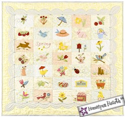 Postcard Cuties for Spring Pattern & Embellishments