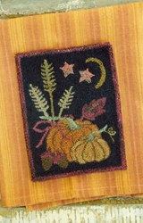 Harvest Setting Punch Needle Pattern<br>Buttermilk Basin