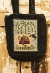 House on Sheep Punch Needle Pattern<br>Buttermilk Basin
