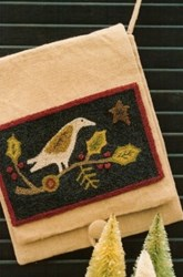Christmas Dove Punch Needle Pattern