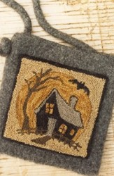 Haunted House Punch Needle Pattern<br>Buttermilk Basin