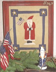 Patriotic St. Nick by Country Stitches