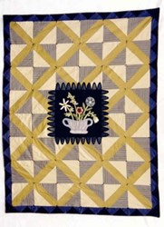 Garden Lattice Quilt Pattern <br> by Heart to Hand