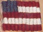 Last One! Vintage Find - Last One!  <i>3 Flag Pins Kit</i> by Hooked On Rugs