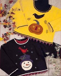 Last One!  Winter Friends, Autumn Grins Pattern