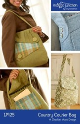 Last One!  Country Courier Pattern Bag by Indygo Junction