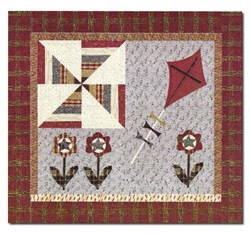 Kites of March Quilt Pattern <br>by Jan Patek Quilts Inc.