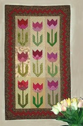 Spring Tulips Quilt Pattern by Joined at the Hip