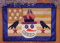 Patriotic Frosty Pattern by Joined at the Hip
