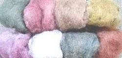 Felter's Paintbox Wool Roving - Pastel Colors