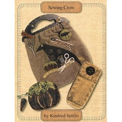 VINTAGE!! Sewing Crow Bag Pattern Booklet By Kindred Spirts