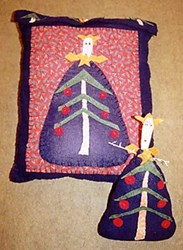 Attitude Angel Pillow & Doll Pattern by Liberty Gardens