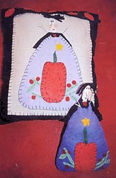 Vintage Find!  Which Witch Pillow & Doll Pattern by Liberty Gardens