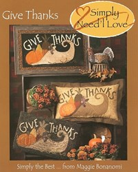 Give Thanks <br><i>Simply</i> Need'l Love