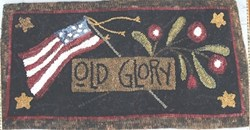 Old Glory  Monks Cloth Pattern