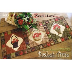 Basket Time Table Runner Pattern by Need'l Love