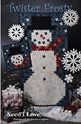 Twister Frosty Wall Quilt Pattern - by Need'l Love
