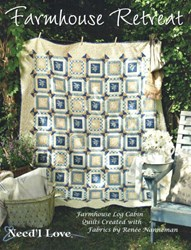 Farmhouse Retreat Quilt Patterns Booklet by Need'l Love