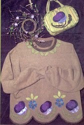 Pansies & Periwinkles Pattern<br> by Pat Sloan & Co.