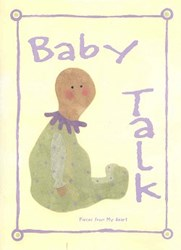 Vintage  Find!  Baby Talk Book