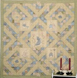 Whispers in the Wind Quilt Pattern by Sandy Gervais <br> Pieces From My Heart