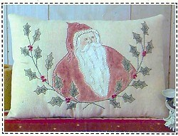 Santa Stitchery Patterns <br>by Plum Pudding