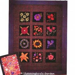 A Hummingbird's Garden Pattern by Primitive Gatherings