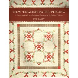 New English Paper Piecing Book by Sue Daley