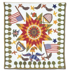 Union Star Quilt Pattern by Terry Clothier Thompson for Peace Creek Pattern Co.