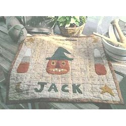 Vintage Find!  The Old Tattered Flag Designs - Jack in the Hat Pattern