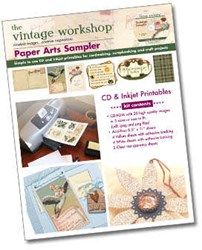 Paper Arts Sampler <br>the Vintage Workshop