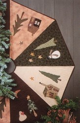 Country Tree Skirt Pattern <br>by Whimsicals