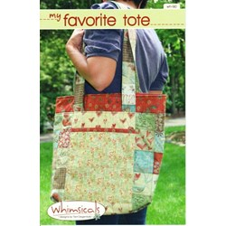 My Favorite Tote Pattern by Terri Degenkolb by Whimsicals