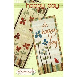 Happy Day and Blooming Runner Table Runner Patterns  by Terri Degenkolb by Whimsicals