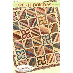 Crazy Patches Quilt Pattern by Terri Degenkolb by Whimsicals