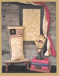 The Pledge of Allegiance Pattern<br>Wooden Spool Designs