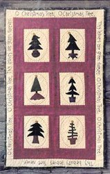 O Christmas Tree  Pattern<br>Wooden Spool Designs