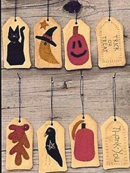 Vintage Find!  TAGS - Fall Collection Booklet<br>Wooden Spool Designs