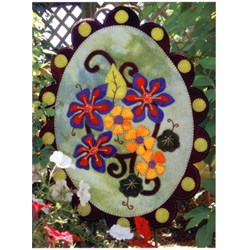 Sweet Season Penny Rug Wool Applique Kit