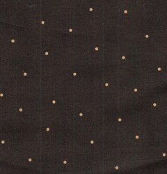 "24"" Remnant -  -Simpatico - Brownish/Black with Gold Dots - Maywood Studios"