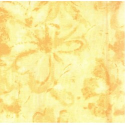 Hawaiian Prints - Yellow Tonal Floral - by AE Nathan