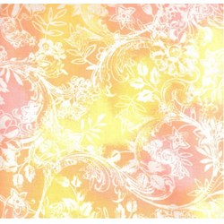 Hawaiian Prints - Yellow/Pink Floral Print - by AE Nathan