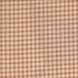"End of Bolt - 108"" -  - Antique Fair - Cream and Pale Red Check - by Blackbird Designs for Moda"