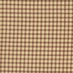 "End of Bolt - 108"" -  Antique Fair - Cream and Brown Check - by Blackbird Designs for Moda"